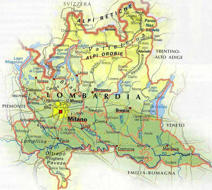 Cartina Muta Lombardia Da Completare.Cartina Lombardia Da Colorare Colorare Gratis